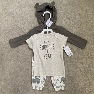Cute 3 piece baby outfit